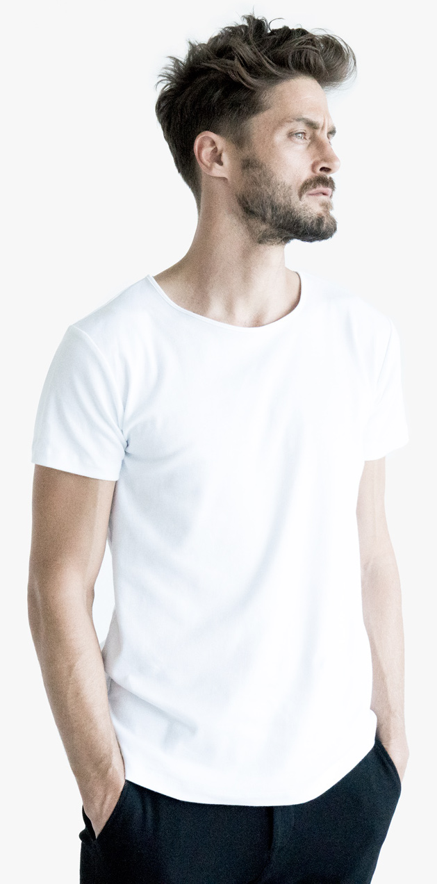 White pure quality organic cotton premium luxury