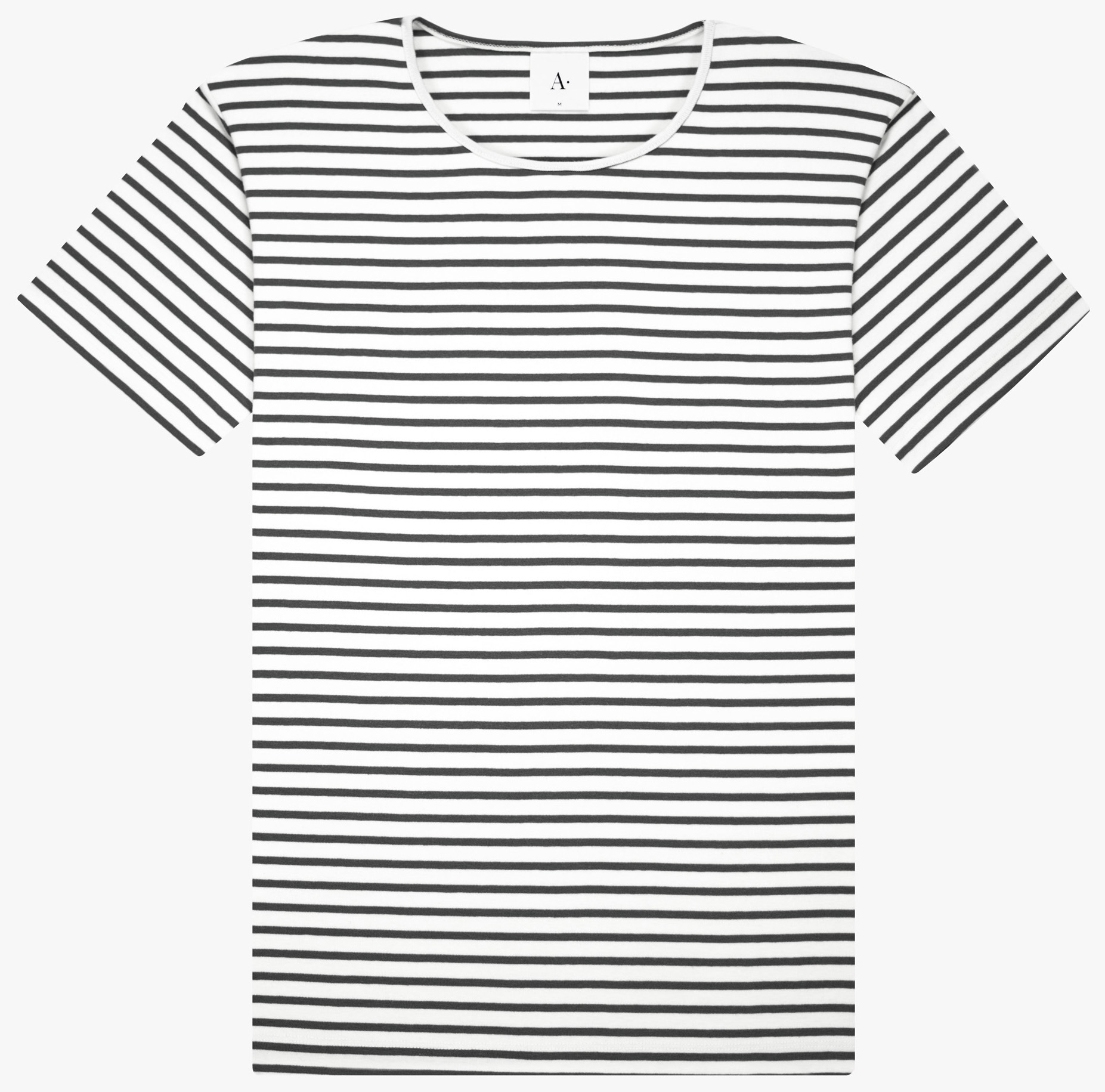 Nautical stripe matching white base cotton Organic