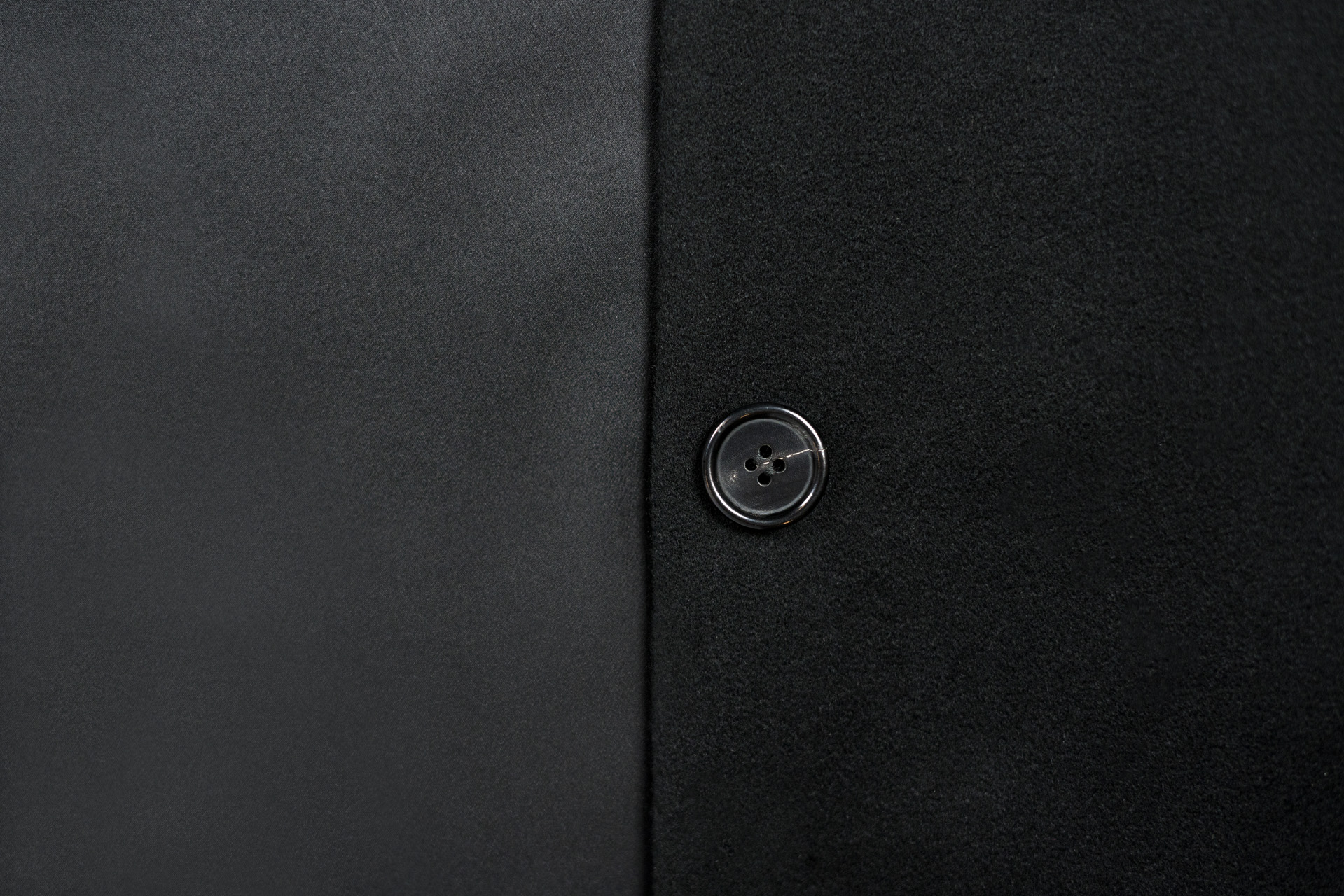 Detailed Button Premium Silk Cashmere Angora Button